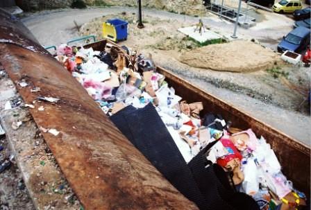 Container υποδοχής ανακυκλώσιμων απορριμμάτων