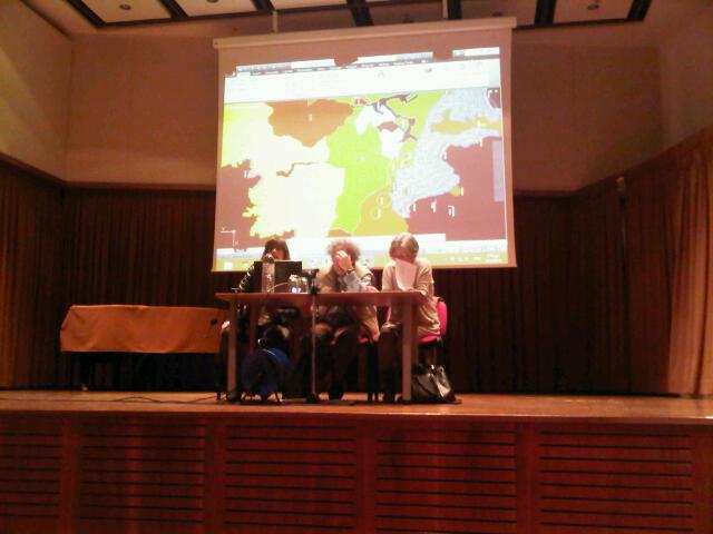 Στο πάνελ των ομιλητών η εκπρόσωπος της ΚΕΠΟΜ κ. Άννα καμμή που χαιρέτησε την εκδήλωση, η
