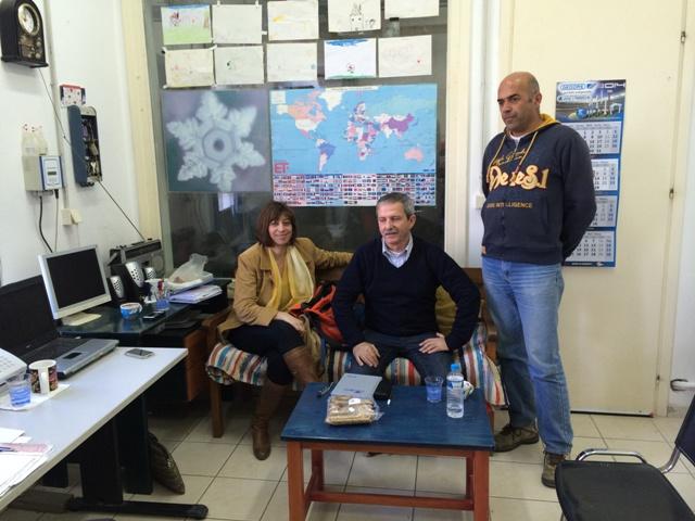 Στο διυλιστήριο της Αγιάς Σοφιάς, Άννα Καμμή, Δημήτρης Ρουσουνέλος, Γιώργος Συριανός.