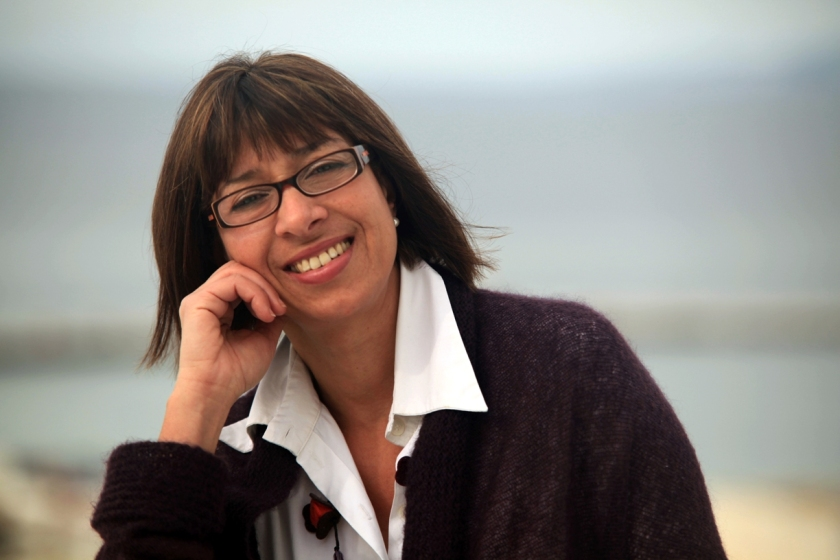 Άννα Καμμή - Επικεφαλής του συνδυασμού της Κίνησης Ενεργών Πολιτών Μυκόνου για τις δημοτικές εκλογές της 18ης Μαΐου 2014