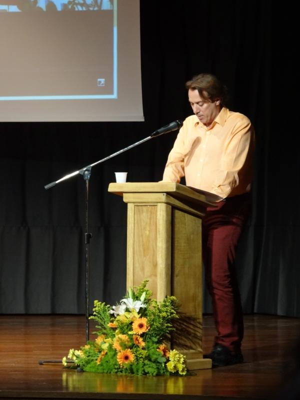 Αντώνης Αντωνίνης, Ομιλία στο Γρυπάρειο