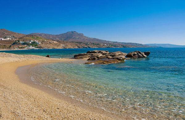 beach in mykonos
