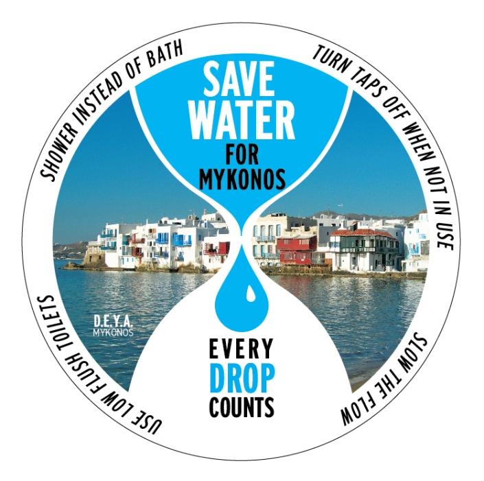 WATER sticker BLOG KEPOM MYKONOS