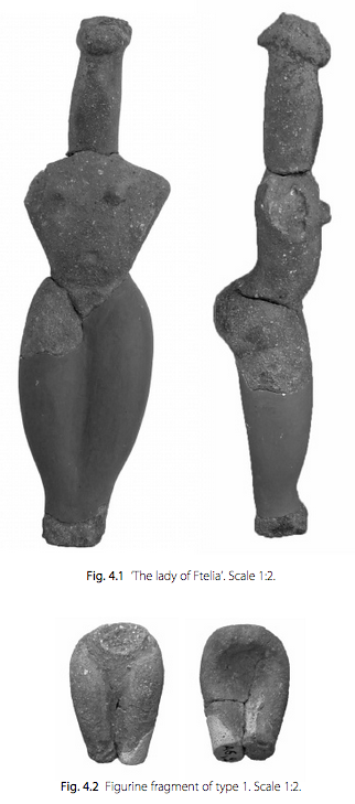 Πηγή φωτό: http://www.academia.edu, FIGURINES FROM THE LATE NEOLITHIC SETTLEMENT OF FTELIA, MYKONOS Adamantios Sampson & Vagia Mastrogiannopoulou, 2017
